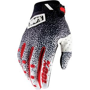 100% Ridefit Gloves svart/vit svart/vit