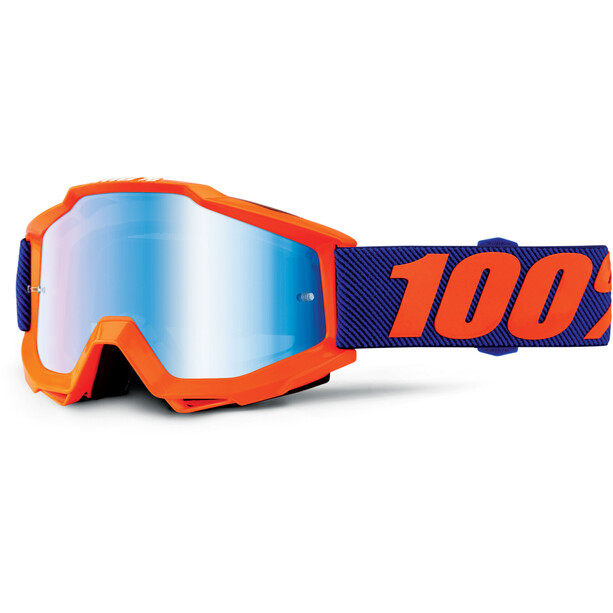 100% Accuri Anti Fog Mirror Goggles Jugend origami
