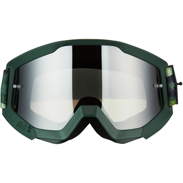 100% Strata Goggles huntsitan-mirror