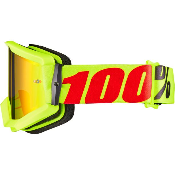 100% Strata Goggles mercury-mirror