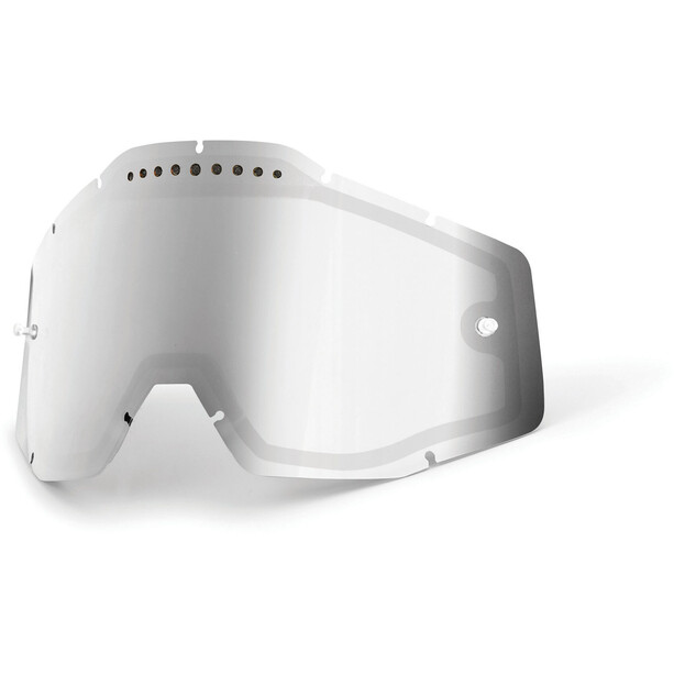 100% Vented Dual Replacement Lenses silver / mirror