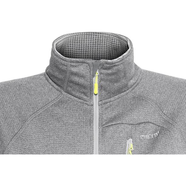 Meru Cannes Fleece Jacket Dam light grey