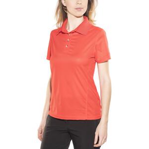 Meru Wembley Funktionelles Poloshirt Damen fiery red fiery red
