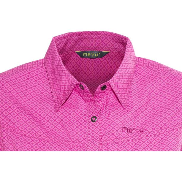 Meru Melissia Blouse à manches courtes Femme, pink