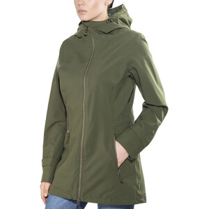 Meru Nikea Waterproof 2 Lagen Mantel Damen forest night forest night