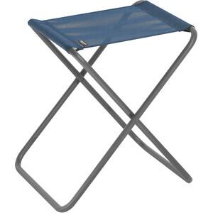 Lafuma Mobilier PH Tabouret pliant avec Cannage Phifertex, bleu/gris bleu/gris