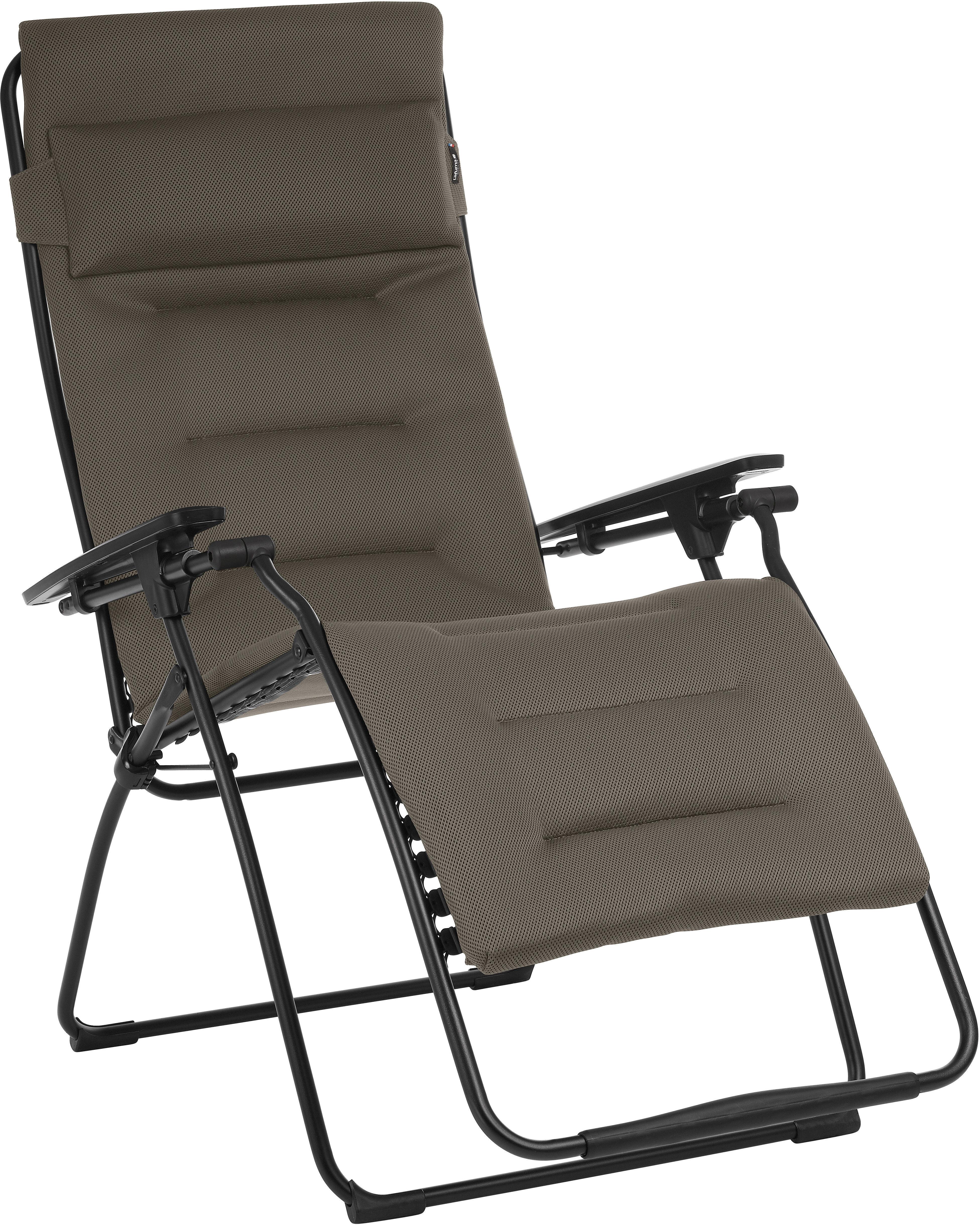 lafuma mobilier futura xl si ge camping air comfort gris noir sur campz. Black Bedroom Furniture Sets. Home Design Ideas