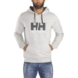 Helly Hansen HH Logo Hoodie Herren grey melange grey melange