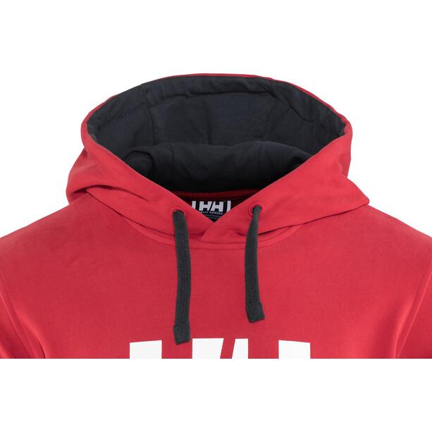 Helly Hansen HH Logo Hoodie Herr red