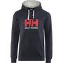 Helly Hansen HH Logo Hoodie Herr navy