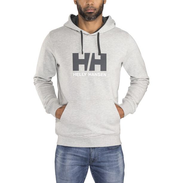 Helly Hansen HH Logo Hoodie Herr grey melange