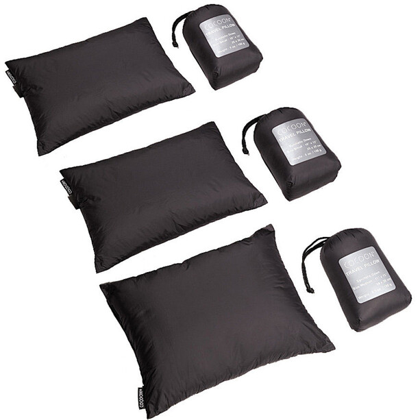 Cocoon Travel Pillow Synthetic Small charcoal