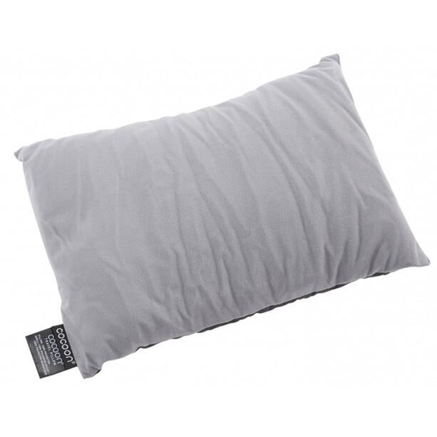 Cocoon Travel Pillow Nylon/Microfiber Medium grå