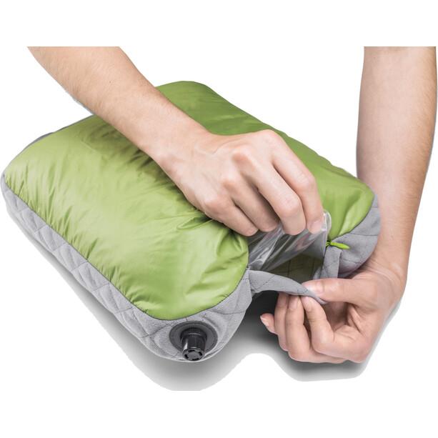 Cocoon Air Core Pillow Ultralight Standard grön/grå