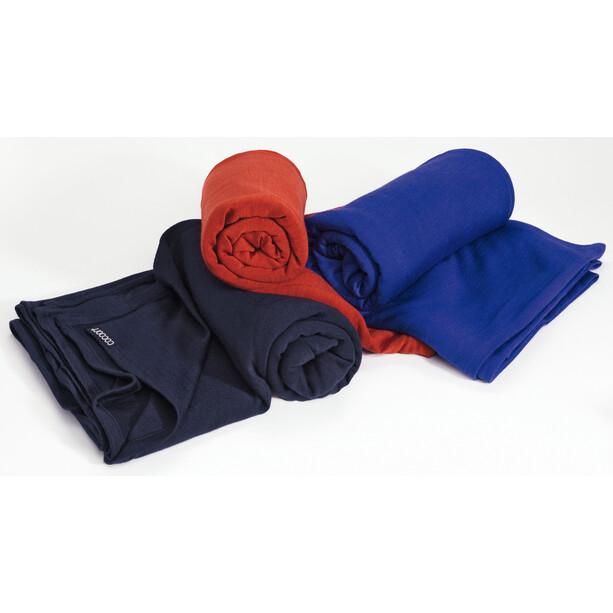 Cocoon Blanket Merino Wool/Silk blå