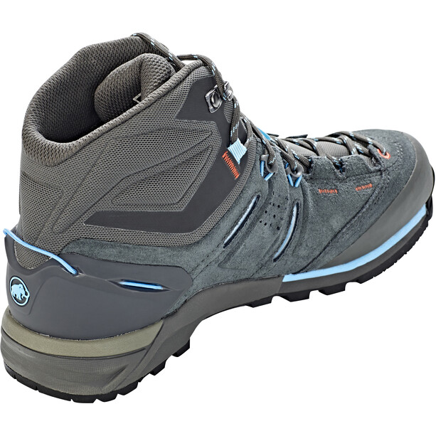Mammut Alnasca Pro Mid GTX Shoes Dam graphite-whisper