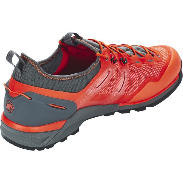 Mammut Alnasca Knit Low Shoes Herr dark orange-graphite