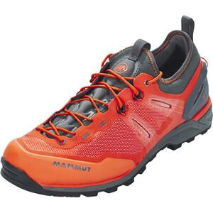 Mammut Alnasca Knit Low Shoes Herr dark orange-graphite dark orange-graphite