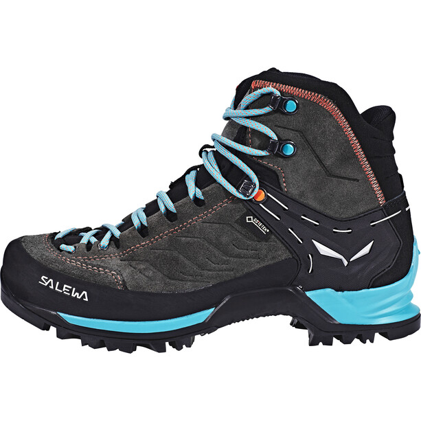 SALEWA MTN Trainer Mid GTX Shoes Dam magnet/viridian green