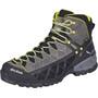 SALEWA Alp Flow Mid GTX Shoes Herr smoke/yellow