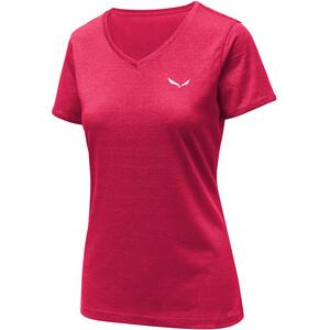 SALEWA Puez 2 Dry Kurzarm T-Shirt Damen rose red melange rose red melange