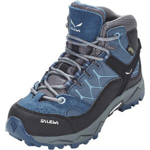 SALEWA Alp Trainer GTX Mid Shoes Kids, dark denim/charcoal dark denim/charcoal