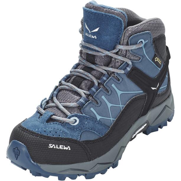 SALEWA Alp Trainer GTX Mid Shoes Kids, dark denim/charcoal