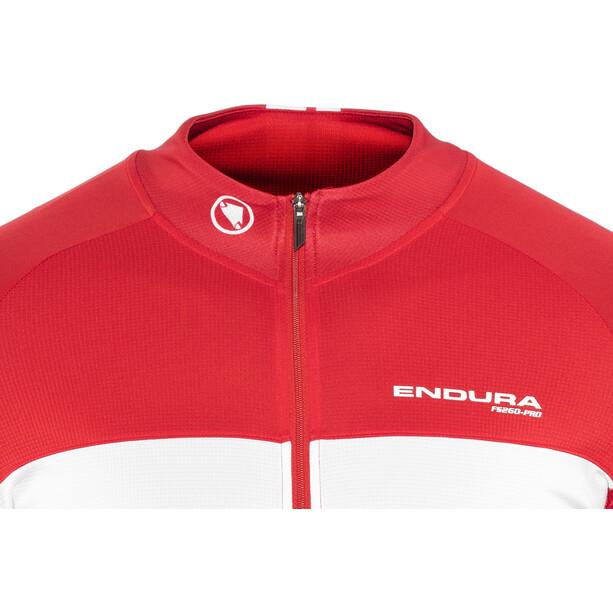 Endura FS260-Pro Kurzarm Trikot Herren red