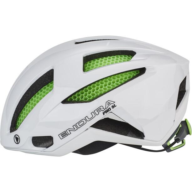 Endura Pro SL Helm with Koroyd white