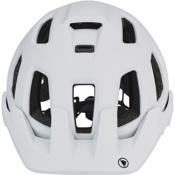 Endura SingleTrack II Casque, blanc/noir