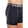 Icebreaker Anatomica Zone Boxershorts Herren black/white