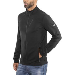 Icebreaker Fluid Zone Langarm Zip Shirt Herren black/black black/black