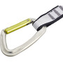AustriAlpin Eleven Quickdraw 11cm Sling Tanga anodised colorless-yellow