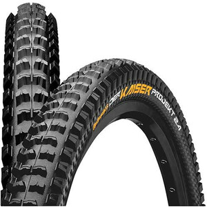 "Continental Der Kaiser 2.4 Projekt Folding Tyre 27.5"" TLR E-25 Apex, black black"