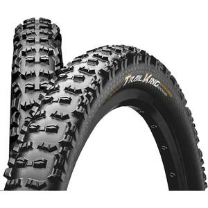 "Continental Trail King 2.4 Folding Tyre 29"" TLR E-25 Apex Svart Svart"