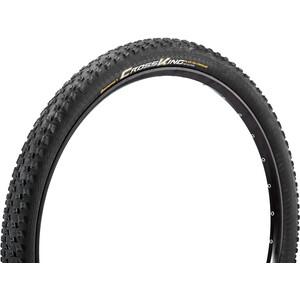 "Continental Cross King 2.2 Folding Tyre 27.5"" TLR E-25 black black"