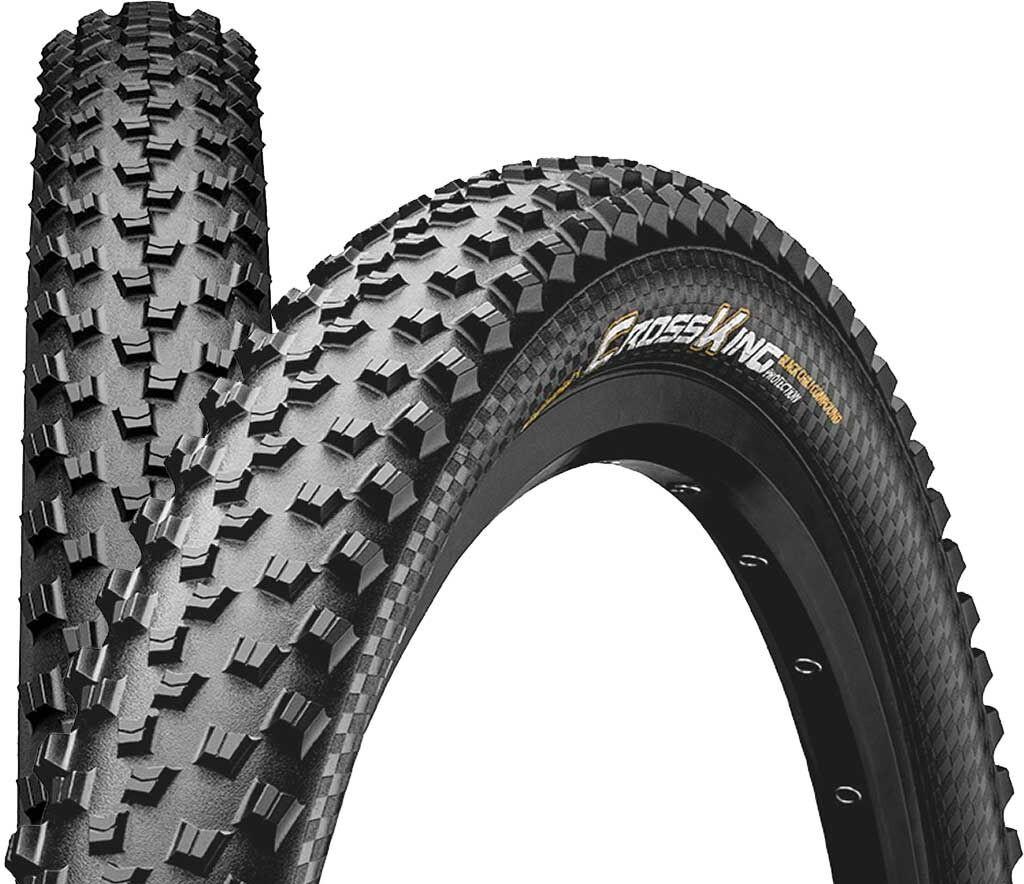 "27.5 x 2.2/"" Continental Race King Folding Tyre 55-584 - Clincher XC MTB"