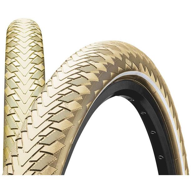 "Continental Contact Cruiser Wired-on Tire 26"" E-25 Reflex creme"