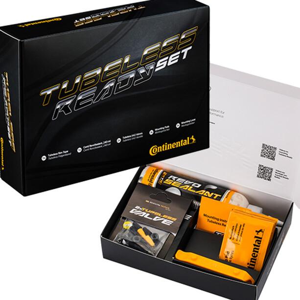 Continental Tubeless Set 25mm Felgenband/Ventil/Sealant