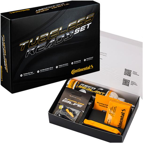 Continental Tubeless Set 29mm Felgenband/Ventil/Sealant
