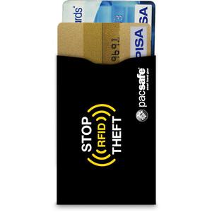 Pacsafe RFIDsleeve 25 Kreditkartenhülle 2er Pack schwarz schwarz
