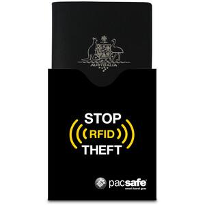 Pacsafe RFIDsleeve 50 Reisepass Schutzhülle black black