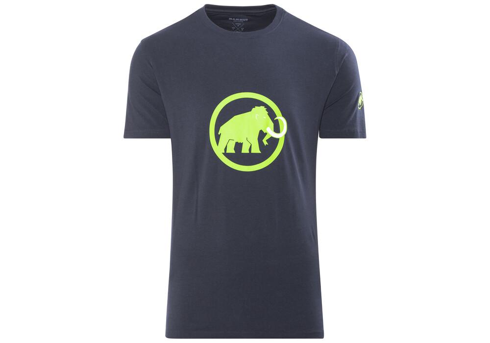 Mammut Logo T Shirt Men Marine Sprout