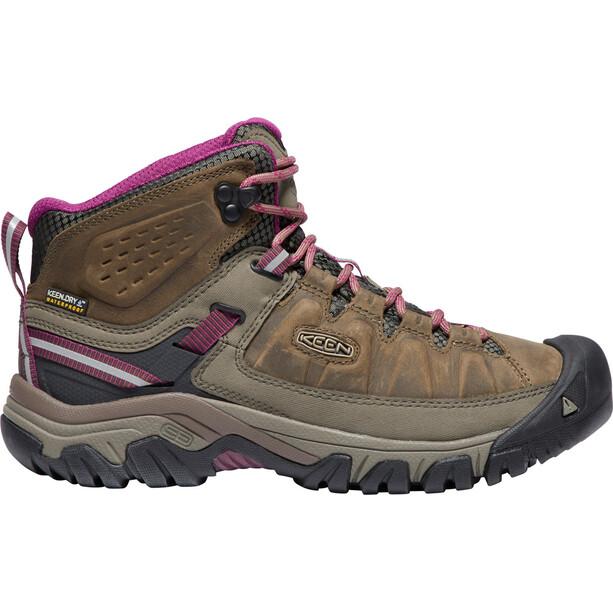 Keen Targhee III WP Mid Shoes Dam weiss/boysenberry