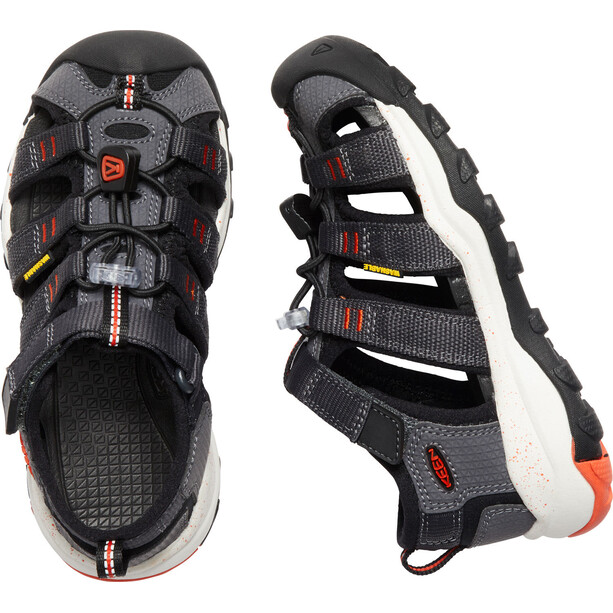 Keen Newport Neo H2 Sandals Barn magnet/spicy orange