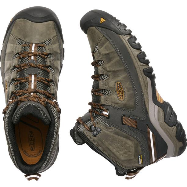 Keen Targhee III Mid WP Schuhe Herren black olive/golden brown