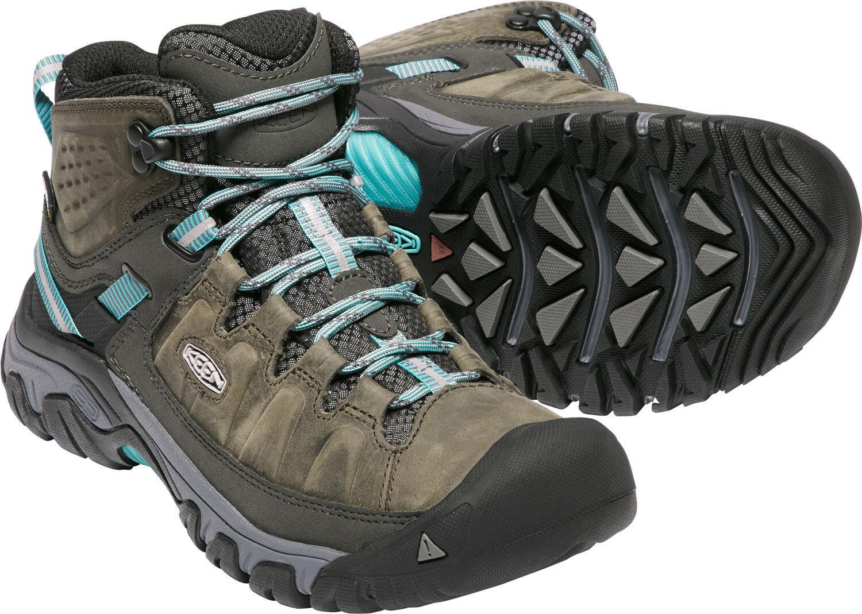 Keen Targhee III Mid WP Shoes Damen alcatraz/blue ...