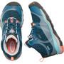 Keen Terradora WP Mid-Cut Schuhe Kinder aqua sea/coral
