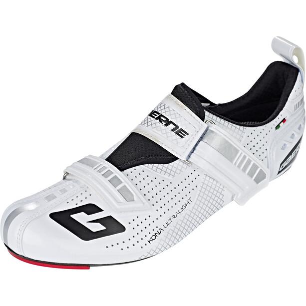Gaerne Carbon G.Kona Triathlon Cycling Shoes Herr white