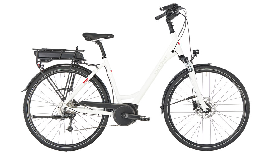 ortler bozen e trekking bike white at. Black Bedroom Furniture Sets. Home Design Ideas